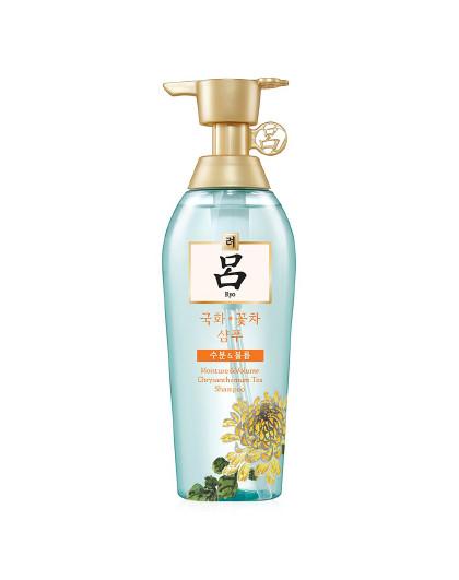 呂吕花茶保湿洗发水400ml  油性头发 清爽水润