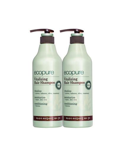 所望头皮护理植物洗发组合(洗发水700ml*2) 无