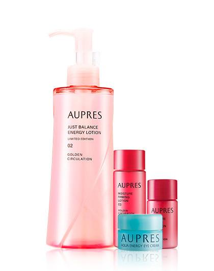 欧珀莱欧珀莱 AUPRES 活力循环亮润水平衡型套装 护肤套装 滋润保湿