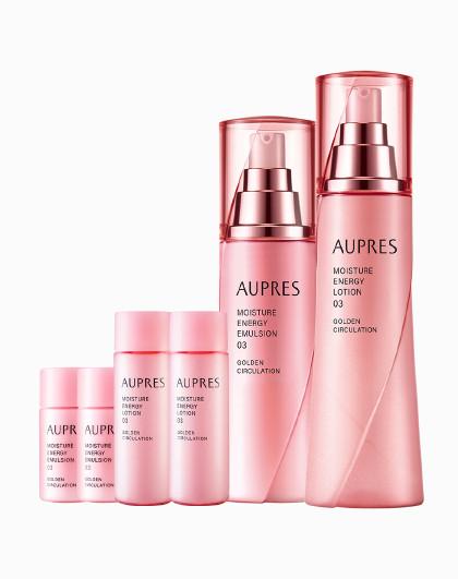 欧珀莱欧珀莱 AUPRES 活力循环系列面部护肤套装 滋润型 护肤套装