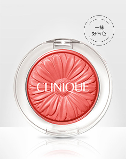 倩碧倩碧花漾胭脂02(桃红色)3.5g 细腻粉质 自然修容 腮红