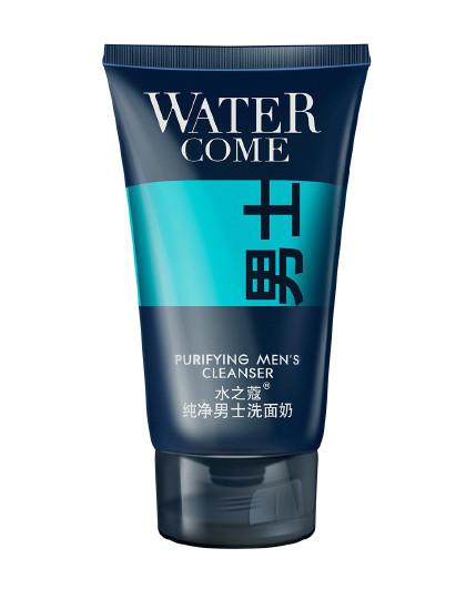 水之蔻【温和清洁 水油平衡】水之蔻 纯净男士洗面奶150g 男士 洗面奶
