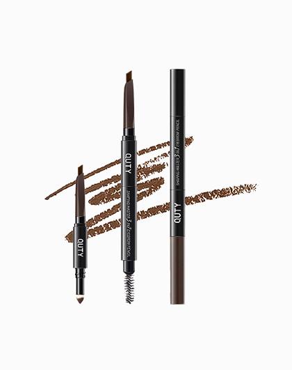 巧迪尚惠巧迪尚惠三合一眉笔0.22g+眉粉0.4g 防水防汗持久眉笔