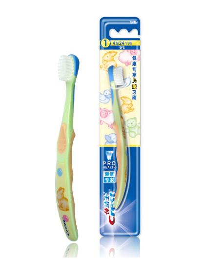 佳洁士阶段型儿童牙刷4至24个月