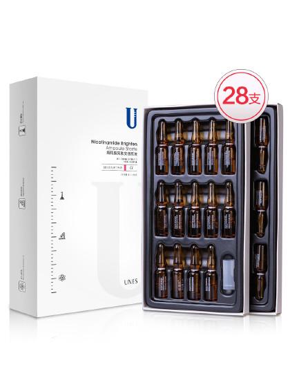 优理氏烟酰胺亮肤安瓶原液28支精华液 其它颜色
