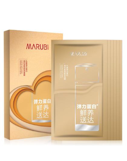 丸美【冻龄膜法贴】MARUBI 丸美 弹力蛋白凝时紧致鲜养面膜6片/盒 分体面膜