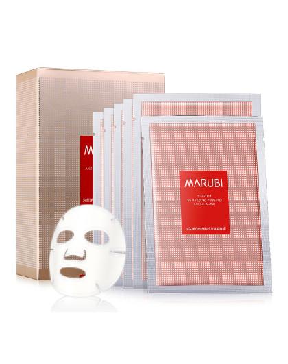 丸美【爆款淡纹面膜】MARUBI 丸美 弹力蛋白凝时紧致面膜6片/盒 面膜