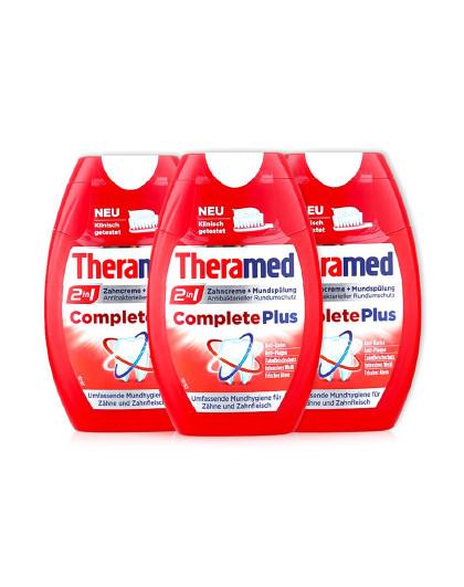 护齿达护齿达Theramed多效二合一牙膏75ml*3 多效合一 其它颜色