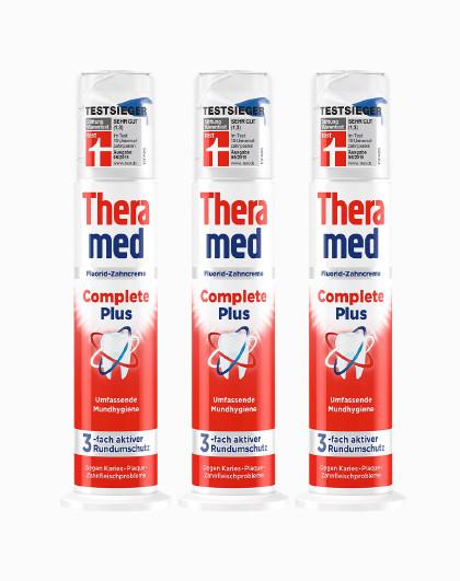 护齿达护齿达Theramed多效立式牙膏 100ml*3 全面防护 其它颜色