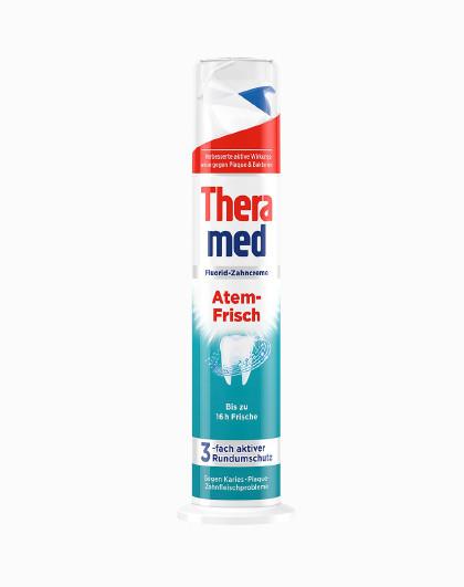 护齿达【网红立式牙膏】护齿达Theramed清新立式牙膏 100ml 清新口气