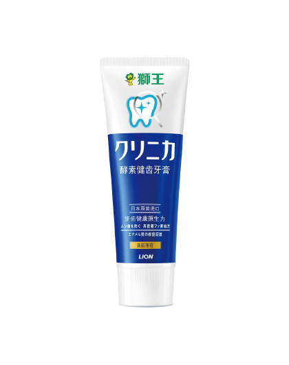 狮王狮王(Lion)齿力佳酵素健齿牙膏130g(立式)