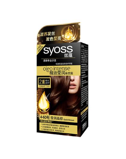丝蕴丝蕴Syoss 精油莹润染发霜4-60莹润金棕 滋养强韧染发剂