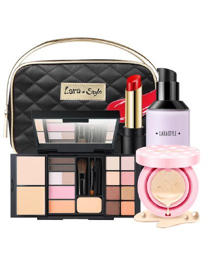LarastyleLarastyle女神的魔盒全套彩妆盘粉底、眉粉、腮红、眼影
