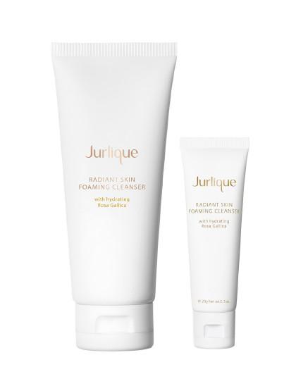 茱莉蔻【玫瑰净白小泡泡】茱莉蔻Jurlique玫瑰亮颜泡沫洁面乳 80g 套装 保湿 清洁毛孔 以实物为准