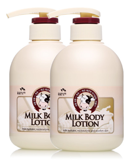 所望所望somang 牛奶身体乳两只装补水保湿 护体乳