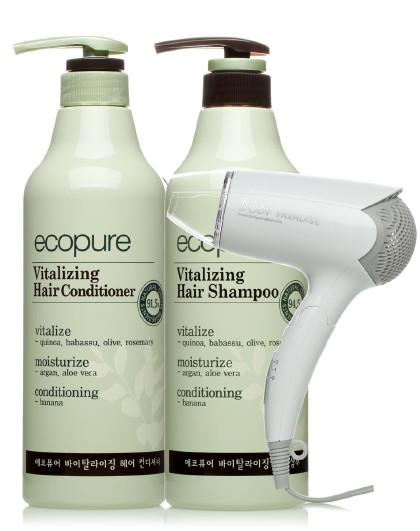 所望所望somang 头皮护理植物洗发水护发素吹风机超值套装 洗护套装