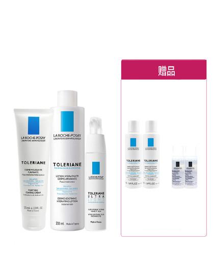 理肤泉理肤泉特安舒缓三件套 特安保湿舒缓敏感肌护肤品套装