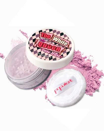 玻儿玻儿白皇后蔷薇蜜粉5g  # C03绢紫 控油散粉