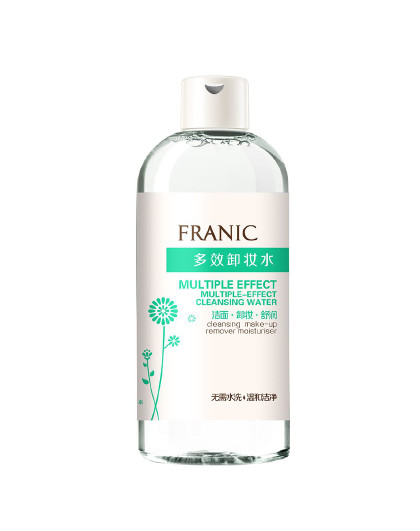 法兰琳卡法兰琳卡多效卸妆水300ml 免洗卸妆温和 见实物