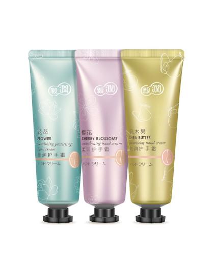 亲润孕妇护肤品化妆品植物淳萃手霜3件套装 其它颜色