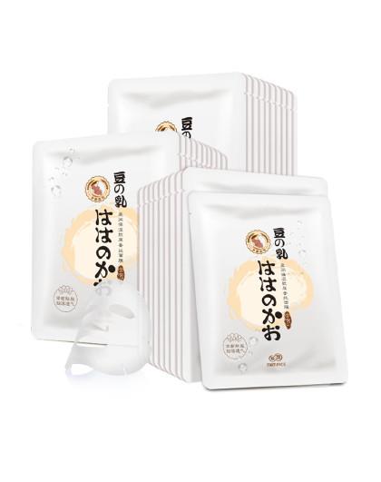 亲润亲润孕妇护肤品化妆品豆乳盈润保湿蚕丝面膜30片装 其它颜色