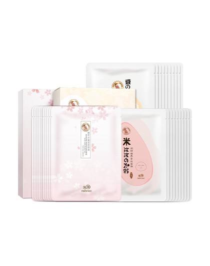 亲润亲润孕妇护肤品孕期多效养肤补水保湿面膜30片组合套装 其它颜色