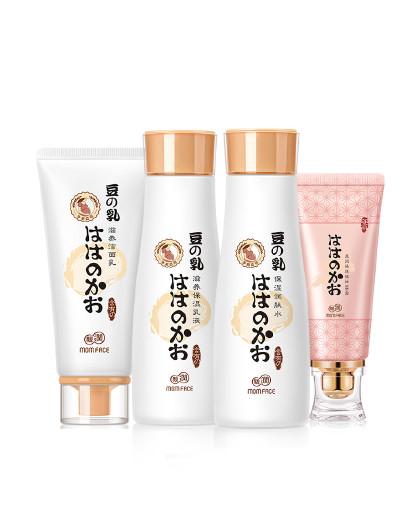 亲润亲润孕妇护肤品化妆品豆乳水漾美颜保湿补水4件套装 哺乳期适用 其它颜色