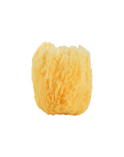 CYPCYP正品加勒比天然海绵洁面洗脸棉扑CT1-1 洁面扑 面扑 粉扑 黄色