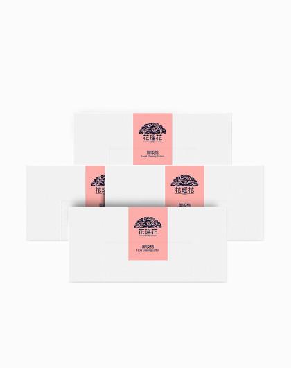 花瑶花【卸妆护肤双效用】花瑶花  卸妆棉50片*4盒 200片 化妆棉