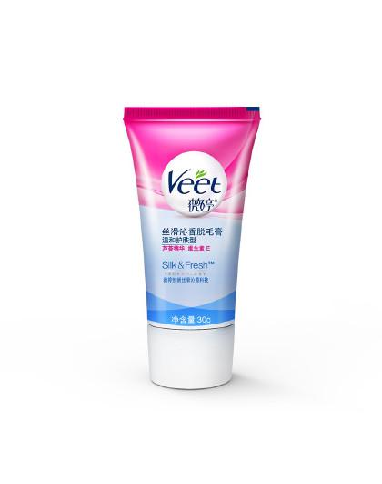薇婷薇婷 VEET 丝滑沁香脱毛膏 温和护肤型 30g 脱毛膏