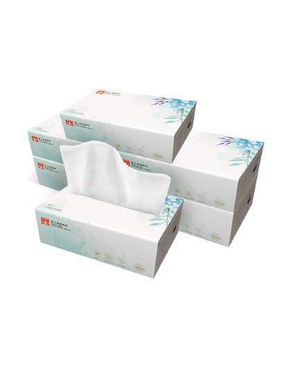 好孩子GB好孩子婴儿保湿面纸100抽6连包  无香清洁纸巾 亲肤柔软面抽纸 适合敏感肌