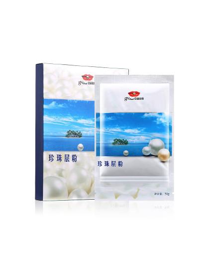 京润珍珠【平衡水油亮肤】京润珍珠 珍珠层粉100g 珍珠粉面膜