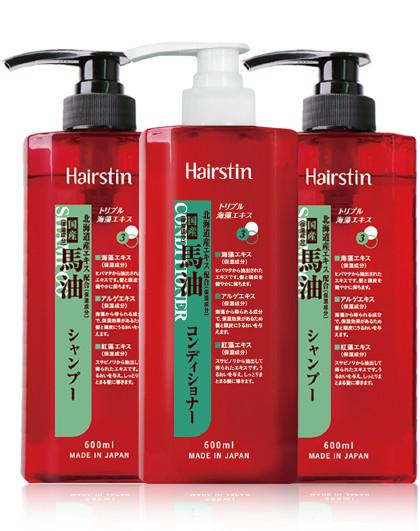 赫丝町赫丝町日本无硅油洗发水护发素套装1800ml柔顺控油清爽去屑