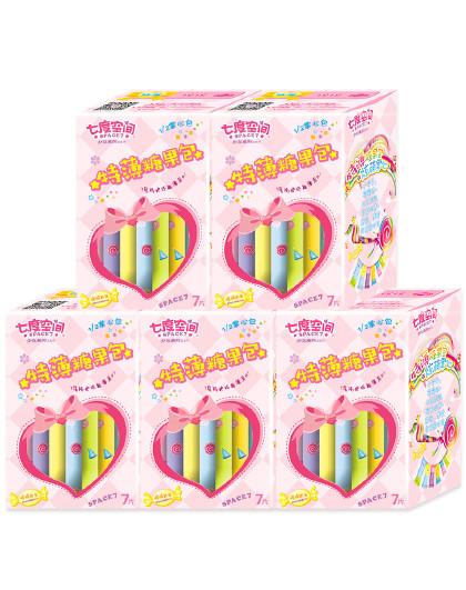 七度空间七度空间少女系列超薄糖果包卫生巾245mm*35片