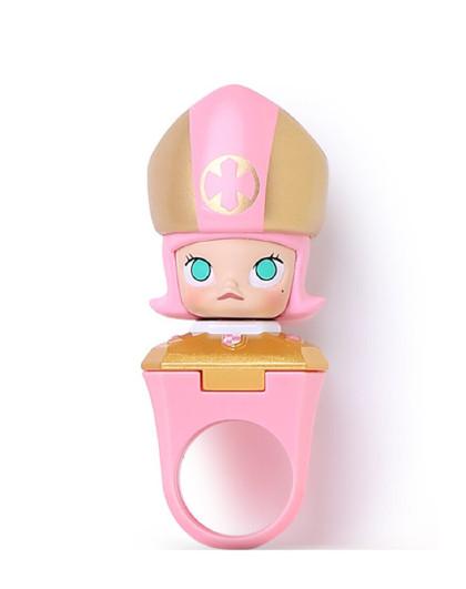 阿芙【少女心香膏】AFU阿芙戒指香膏(Molly粉红主教限量版)1个 香体香膏