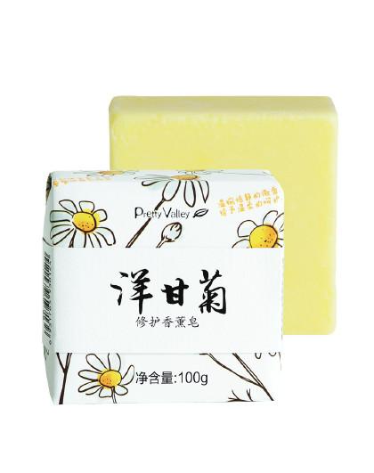 汇美舍【精油手工皂】洋甘菊修护香薰皂100g护肤皂温和清洁