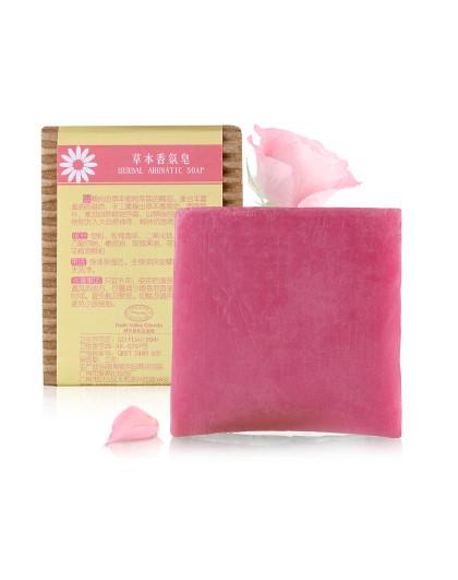 汇美舍【植物手工皂】贵妃玫瑰香氛皂100g洁面沐浴