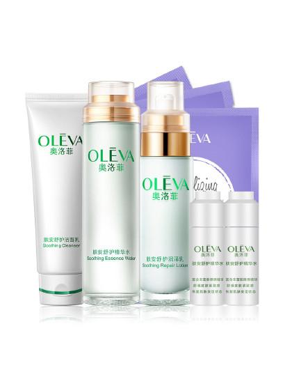 奥洛菲奥洛菲OLEVA 肤安保湿修护基础四件套 补水