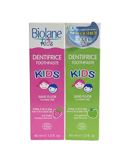 BIOLANE DE BIOPHA2-6岁儿童牙膏系列