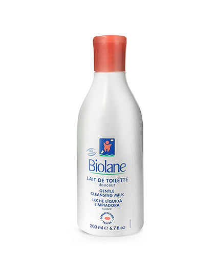 BIOLANE DE BIOPHA婴儿柔和免冲洁肤乳200ml