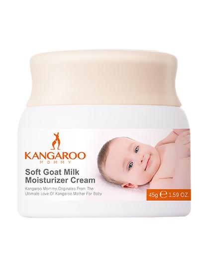 袋鼠妈妈袋鼠妈妈 柔呵羊乳防皴修护霜 婴儿护肤新生儿正品