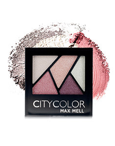 City ColorCity Color 立体缤纷眼影 豆蔻花香