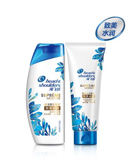 海飞丝海飞丝致美水润去屑洗发水80ml+精华乳80ml
