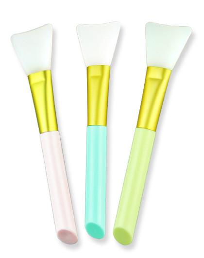 玻儿玻儿QQ硅胶面膜刷 单只装(颜色随机)柔软服帖 化妆工具 化妆刷 见实物