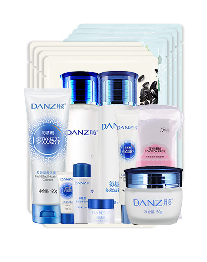 丹姿丹姿DΛNZ 氨基酸全套呵护倍润护肤套装(11件套)