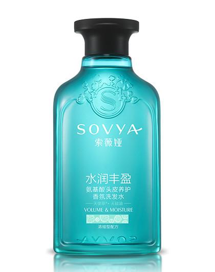 索薇娅天使草无硅油水润丰盈氨基酸香氛洗发水 300ml