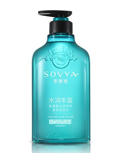 索薇娅天使草无硅油水润丰盈氨基酸香氛洗发水 500ml
