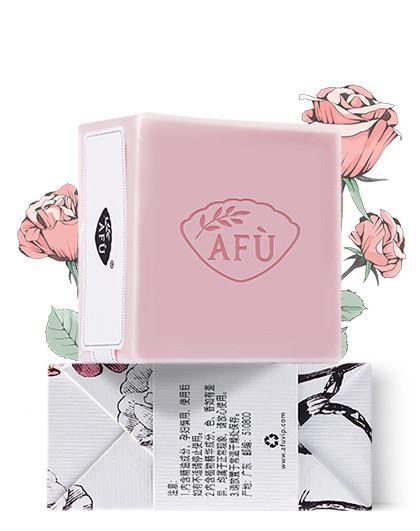 阿芙玫瑰温和洁净保湿精油皂100g  洁面皂  沐浴皂 深层清洁 玫瑰精油滋养