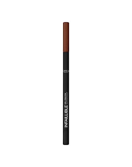 欧莱雅恒放溢彩持色防晕彩色眼线胶笔 105 1.2g