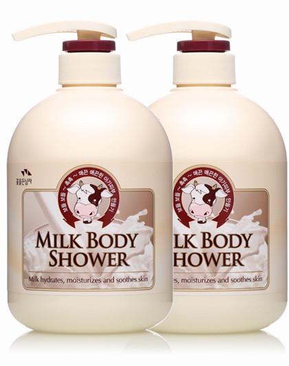所望所望somang 牛奶沐浴露两只装 沐浴套装